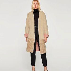 Zara Ecru Coat